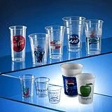 PLASTIC CUP or GLASS