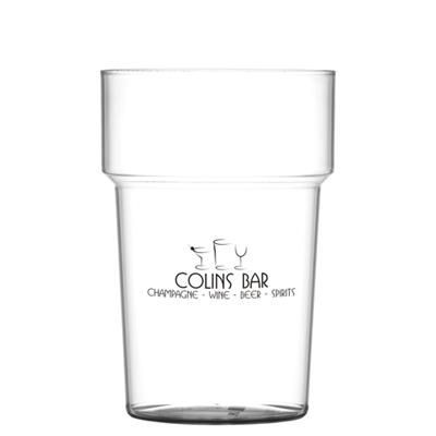PLASTIC TUMBLER GLASS in Clear Transparent