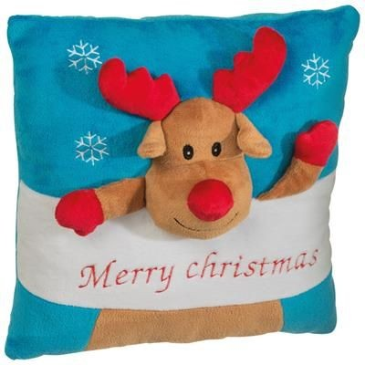 PLUSH CHRISTMAS PILLOW with Different Design