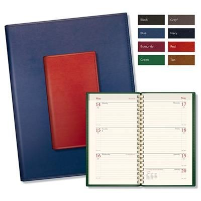 BRANDHIDE SPIRAL COMB BOUND DIARY