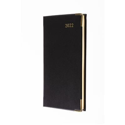 COLLINS CLASSIC SLIMCHART WEEK TO VIEW APPOINTMENT DIARY in Black