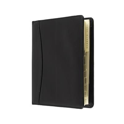 COLLINS ELITE COMPACT DAY TO PAGE APPOINTMENT DIARY in Black