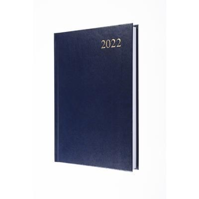 COLLINS ESSENTIAL A5 DAY PAGE DIARY in Blue