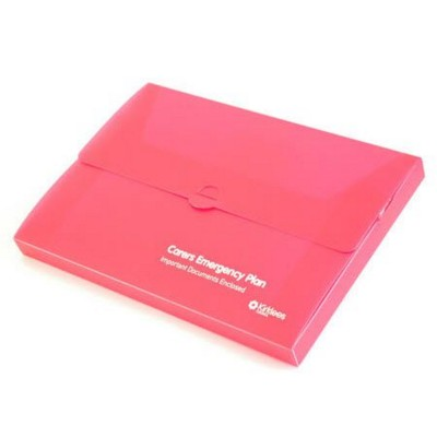 DOCUMENT WALLET BOX In Polypropylene