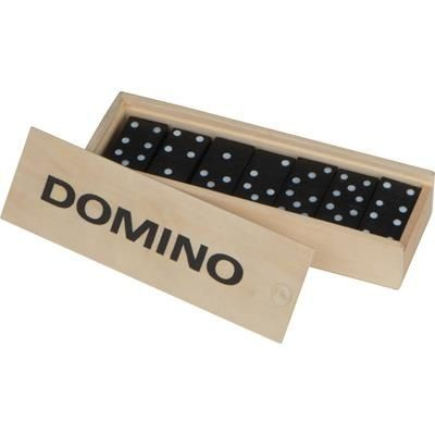 DOMINO GAME in Wood