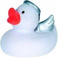 ANGEL RUBBER DUCK SMALL in White
