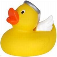 ANGEL RUBBER DUCK SMALL in Yellow