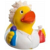 CHEMIST RUBBER DUCK in Yellow & White
