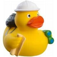 GLOBETROTTER RUBBER DUCK in Yellow