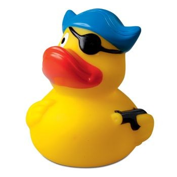 PIRATE with Hat & Eye Patch Duck