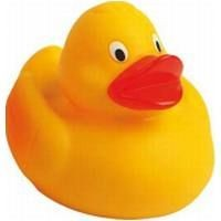 RACING RUBBER DUCK in Yellow