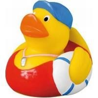 SWIMMING COACH RUBBER DUCK in Yellow