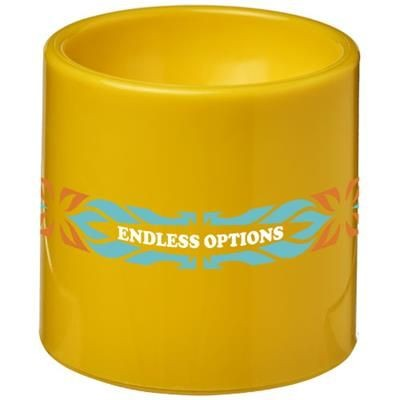 EDIE PLASTIC EGG CUP in Yellow