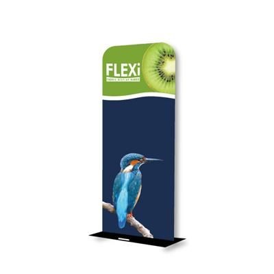 SMALL FLEXI LUXE FABRIC BANNER STAND