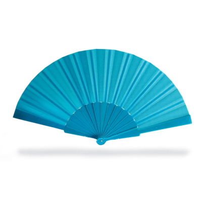CONCERTINA HAND FAN in Blue