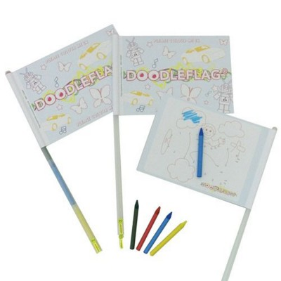 DOODLE FLAG ACTIVITY TOY