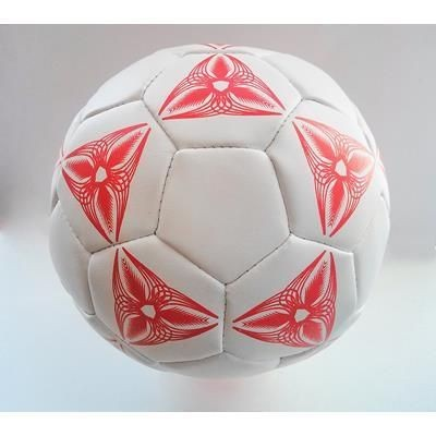 MINI SIZE 1 SOFT COTTON FILLED FOOTBALL in PVC