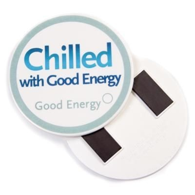 RECYCLED 75MM ROUND FRIDGE MAGNET