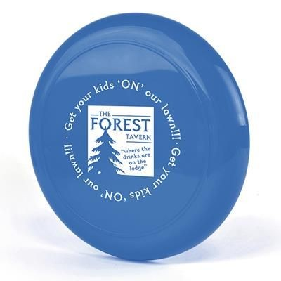 FLYING ROUND DISC in Blue