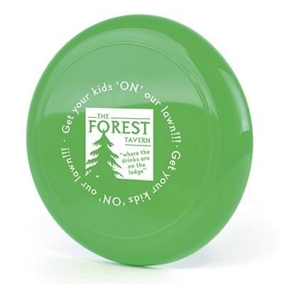 FLYING ROUND DISC in Green