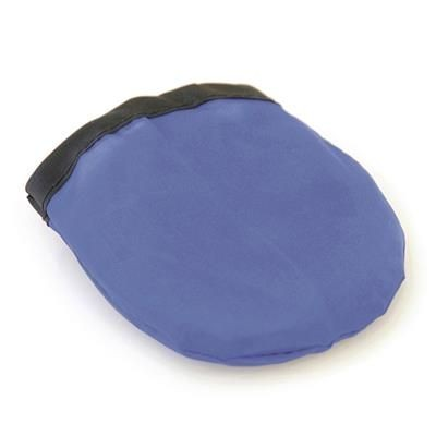 FOLDING FLYING ROUND DISC in Blue