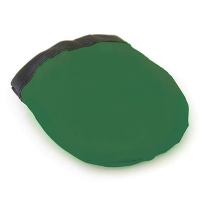FOLDING FLYING ROUND DISC in Green