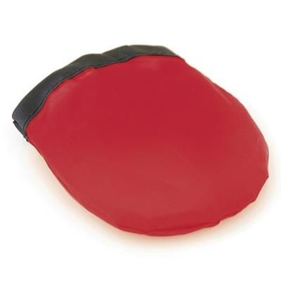 FOLDING FLYING ROUND DISC in Red