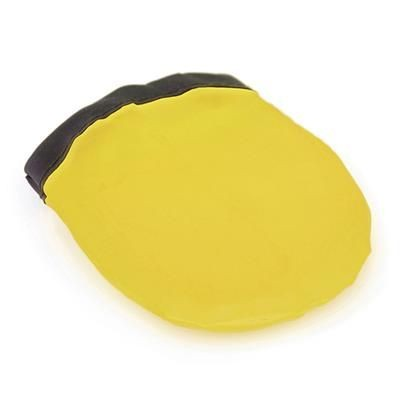 FOLDING FLYING ROUND DISC in Yellow