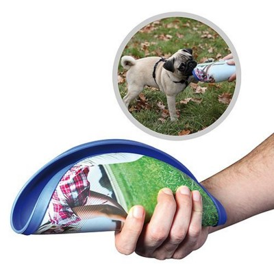 IMOULD BRANDED FLEXIBLE FRISBEE FLYER