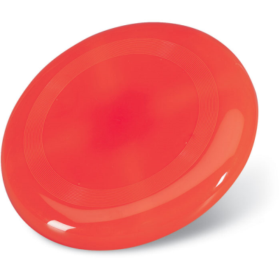 PLASTIC FRISBEE in Red
