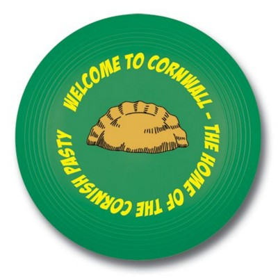 SMALL RECYCLED PLASTIC FRISBEE in Green