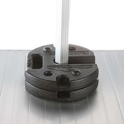 STEEL STACKING LEG WEIGHTS