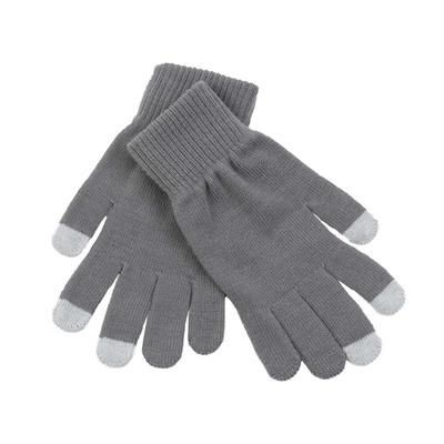 ACRYLIC LYCRA BLEND MAGIC GLOVES in Grey