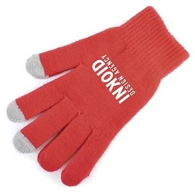 SMART GLOVES in Red