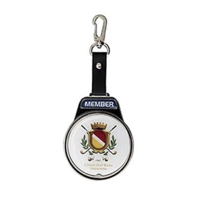 ELITE ROUND METAL GOLF BAG TAG