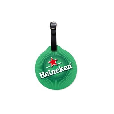 ROUND PHOTOSMART PVC GOLF BAG TAG
