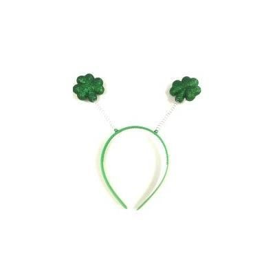 GLITTER SHAMROCK HEADBOPPER