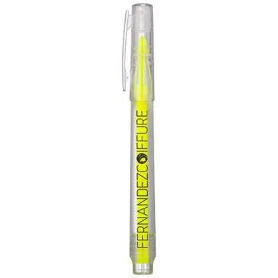 VANCOUVER RECYCLED HIGHLIGHTER in Transparent Clear Transparent
