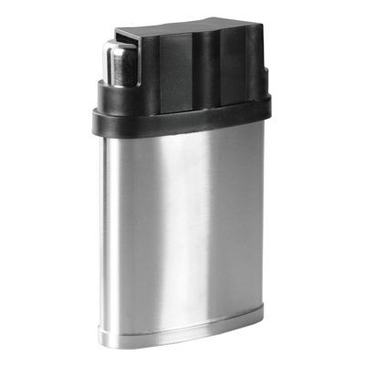 7OZ SILVER STAINLESS STEEL METAL HIP FLASK with 3 Cup in Cover