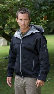 SLAZENGER HOODED HOODY SOFT SHELL JACKET