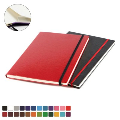 A4 CASEBOUND NOTE BOOK in Belluno PU Leather