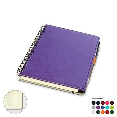 A5 WIRO NOTE BOOK with Plain or Lined Paper