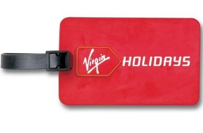 2D PVC LUGGAGE TRAVEL TAG