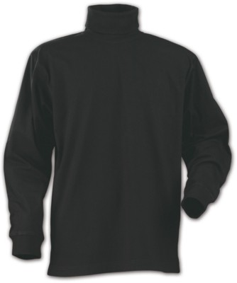 PRINTER ROLLERNECK POLO NECK LONG SLEEVE TOP