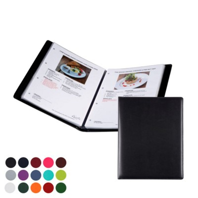 A4 WINE LIST OR MENU HOLDER in Belluno PU Leather