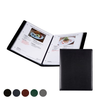 A4 WINE LIST OR MENU HOLDER in Hampton Finecell Leather