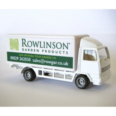 DELIVERY TRUCK MODEL in White