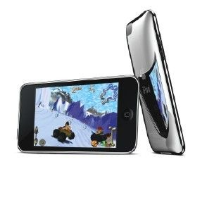 APPLE IPOD TOUCH MP3 PLAYER in Silver & Black