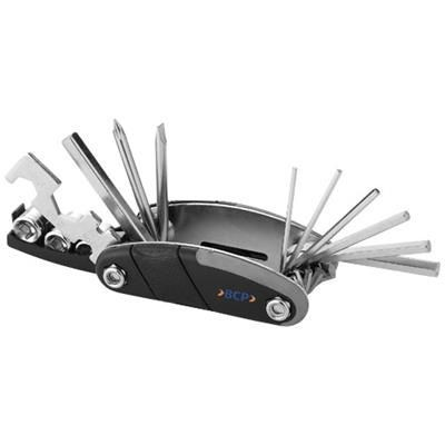 16- FUNCTIONS MULTI TOOL in Black Solid