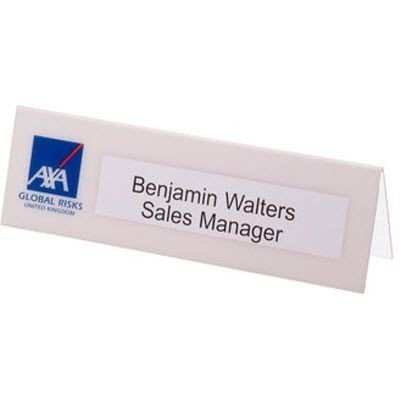 LARGE DESK NAMEPLATE